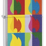 Brichetă Zippo 29623 Abstract Flame
